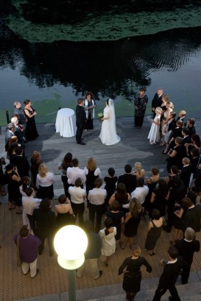 "From the series ""Boathouse Wedding.\"" Photographed by David Kimelman in Brooklyn, NY."