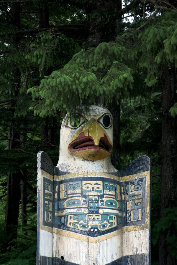 """Eagle Totem"" from the series Natural Order, photographed by David Kimelman"