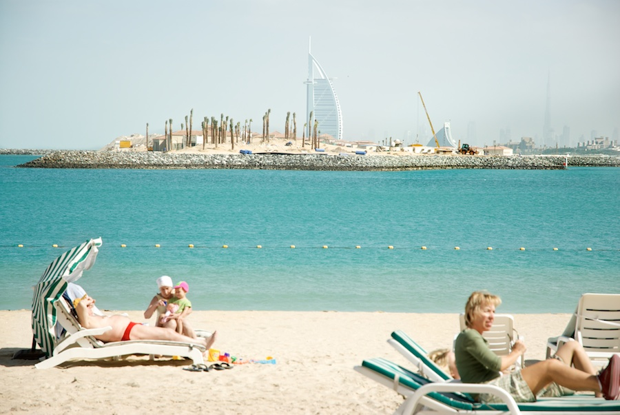 """Babushka In Dubai"" from the series Natural Order, photographed by David Kimelman"