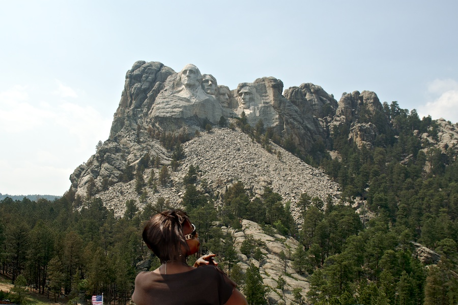 """Mount Rushmore"" from the series, Natural Order, photographed by David Kimelman"