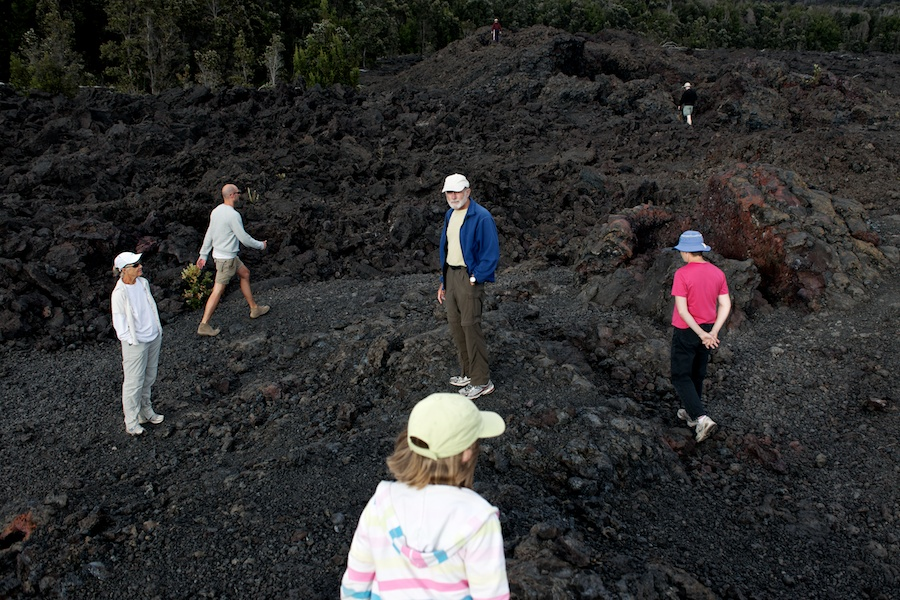"""Volcanic Explorers"" from the series, Natural Order, photographed by David Kimelman"