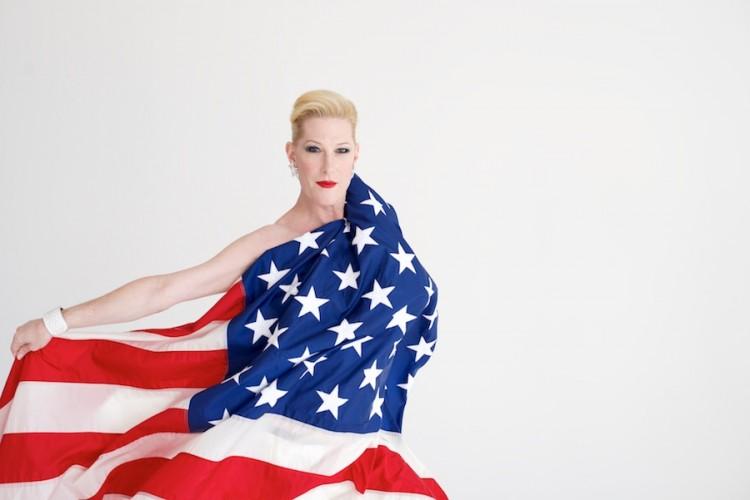 Mx. Justin Vivian Bond — Weimar New York for Obama — by David Kimelman