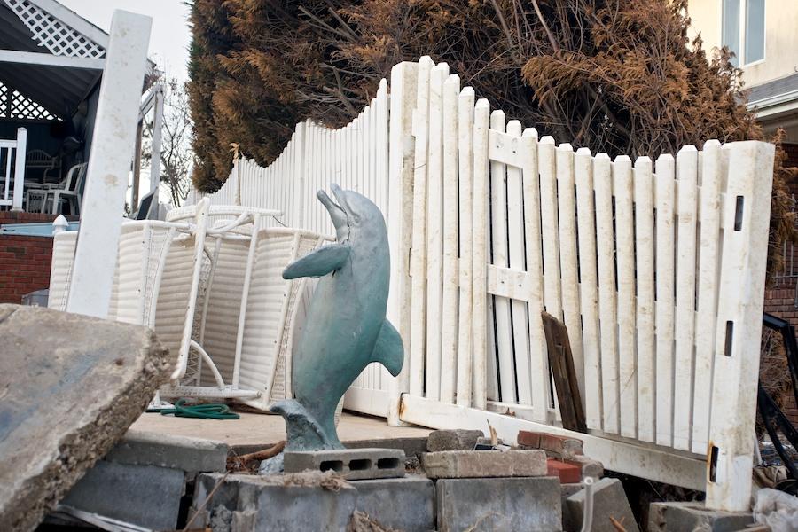 Super Storm Sandy Aftermath -- Belle Harbor & Jacob Riis Beach