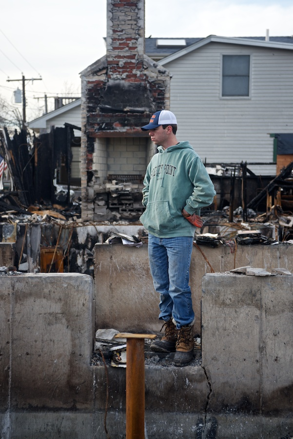 Super Storm Sandy Aftermath -- Breezy Point
