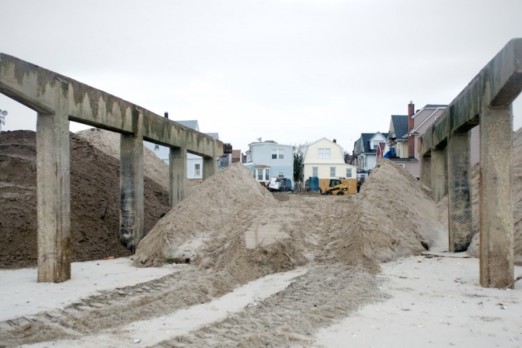 Sandy Aftermath -- Rockaway Beach —2