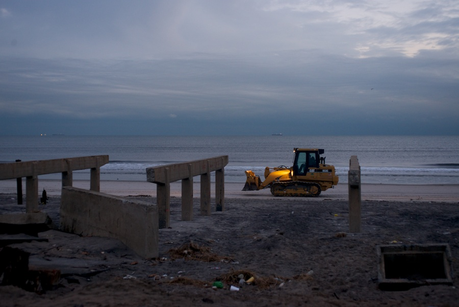 Sandy Aftermath -- Rockaway Beach —24