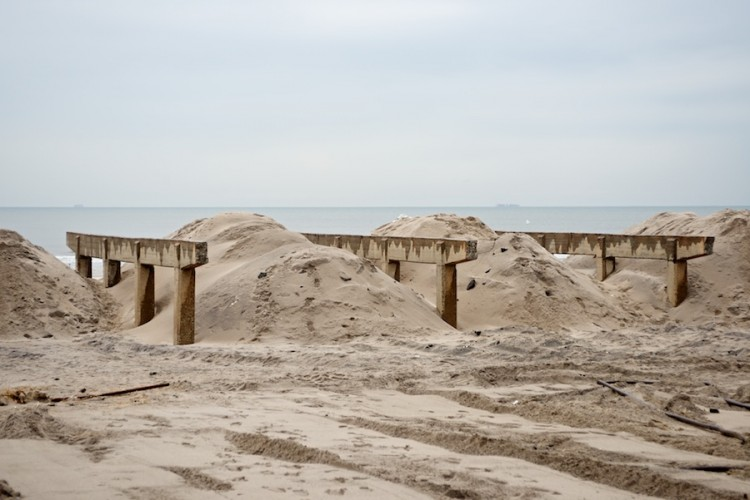 Sandy Aftermath -- Rockaway Beach —4