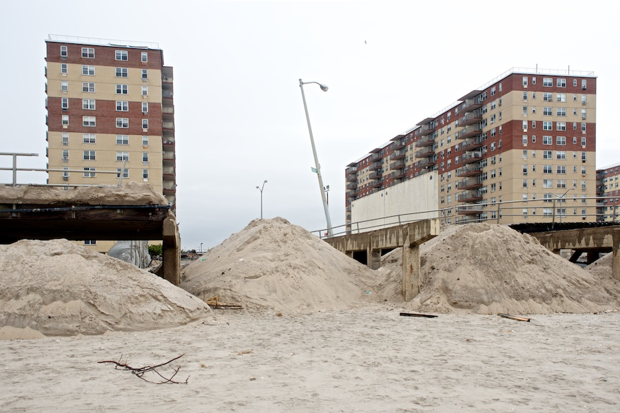 Sandy Aftermath -- Rockaway Beach —6