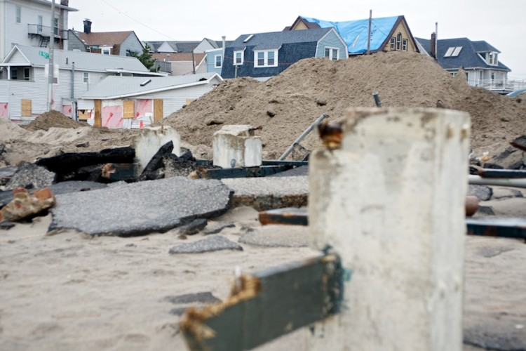 Sandy Aftermath -- Rockaway Beach —7