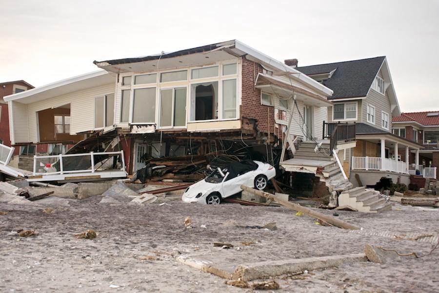 Super Storm Sandy Aftermath Belle Harbor Jacob Riis Beach